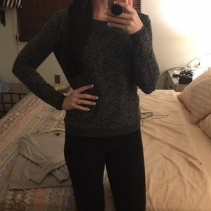 Forever 21 Charcoal Grey Sweater